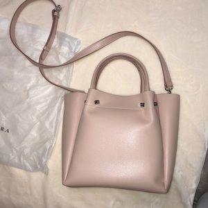 Zara nude-pink bucket bag